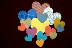 άνευ ραφής ταπετσαρίες βαλεντίνων κοστουμιών καρδιών καρτών ανασκόπησης καλά Στοκ εικόνα με δικαίωμα ελεύθερης χρήσης