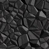άνευ ραφής τοίχος σύστασης πετρών διανυσματική απεικόνιση