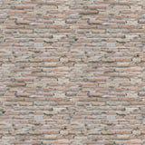 άνευ ραφής τοίχος τούβλου Στοκ φωτογραφία με δικαίωμα ελεύθερης χρήσης