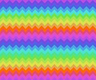 άνευ ραφής τρίγωνα κεραμιδιών Στοκ Εικόνες