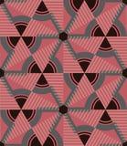 άνευ ραφής τρίγωνο προτύπων Διανυσματική ανασκόπηση Γεωμετρική αφηρημένη σύσταση Στοκ Φωτογραφίες