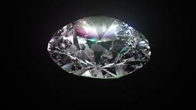 Άνευ ραφής τρισδιάστατο λαμπρό διαμάντι στροφής καθορισμός υψηλός ελεύθερη απεικόνιση δικαιώματος