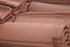άνευ ραφής τρύγος κεραμιδιών σύστασης προτύπων Baumaterial Στοκ Εικόνες