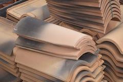 άνευ ραφής τρύγος κεραμιδιών σύστασης προτύπων Baumaterial Στοκ φωτογραφία με δικαίωμα ελεύθερης χρήσης