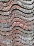 άνευ ραφής τρύγος κεραμιδιών σύστασης προτύπων Στοκ Φωτογραφία