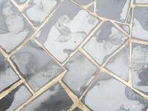 άνευ ραφής τρύγος κεραμιδιών σύστασης προτύπων Στοκ εικόνες με δικαίωμα ελεύθερης χρήσης