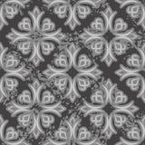άνευ ραφής τρύγος προτύπων Παλαιά βασιλική διακόσμηση background retro απεικόνιση αποθεμάτων