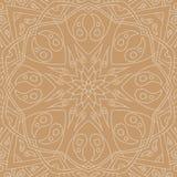 άνευ ραφής τόνοι προτύπων mandala φύλλων απεικόνισης λουλουδιών πράσινοι Floral εθνική περίληψη Στοκ εικόνες με δικαίωμα ελεύθερης χρήσης
