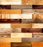Άνευ ραφής υπόβαθρο με τα ξύλινα σχέδια Στοκ Εικόνες