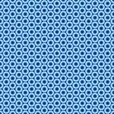 Άνευ ραφής υπόβαθρο με το εξαγωνικό σχέδιο Στοκ Εικόνες
