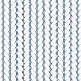 Άνευ ραφής υπόβαθρο με το σχοινί Στοκ εικόνα με δικαίωμα ελεύθερης χρήσης