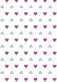 Άνευ ραφής υπόβαθρο σχεδίων αγάπης με τις καρδιές Διάνυσμα που επαναλαμβάνει τη σύσταση Στοκ φωτογραφία με δικαίωμα ελεύθερης χρήσης