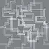Άνευ ραφής υπόβαθρο σχεδίων γραμμών λαβυρίνθου Στοκ Εικόνες