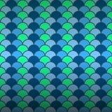 Άνευ ραφής υπόβαθρο σχεδίων κλίμακας ψαριών Στοκ Εικόνες