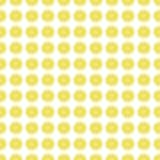 Άνευ ραφής υπόβαθρο σχεδίων με μια φέτα του λεμονιού Στοκ Εικόνες