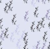 Άνευ ραφής υπόβαθρο σχεδίων λουλουδιών Κομψή τέχνη μπαμπού στοιχείων ιαπωνική Διανυσματική απεικόνιση