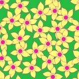 Άνευ ραφής υπόβαθρο σχεδίων λουλουδιών Στοκ φωτογραφία με δικαίωμα ελεύθερης χρήσης