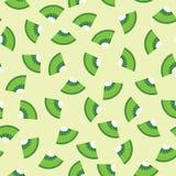 Άνευ ραφής υπόβαθρο σχεδίων των φρούτων ακτινίδιων γραφικό Στοκ εικόνες με δικαίωμα ελεύθερης χρήσης