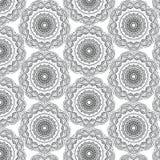 Άνευ ραφής υπόβαθρο σχεδίων mandala Στοκ Εικόνες