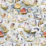 Άνευ ραφής υπόβαθρο της παλαιάς φωτογραφίας σύστασης τοίχων πετρών Ζωηρόχρωμος παλαιός τοίχος πετρών Στοκ φωτογραφία με δικαίωμα ελεύθερης χρήσης