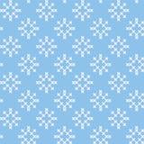 Άνευ ραφής υπόβαθρο χειμώνα και Χριστουγέννων Στοκ Εικόνες