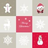 Άνευ ραφής υπόβαθρο Χριστουγέννων Στοκ Εικόνες