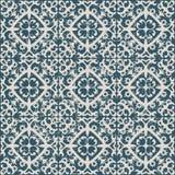 Άνευ ραφής φθαρμένο παλαιό σπειροειδές καλειδοσκόπιο υποβάθρου 054_flower Στοκ Εικόνες