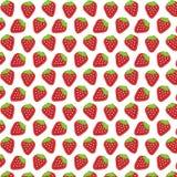 άνευ ραφής φράουλα Στοκ φωτογραφίες με δικαίωμα ελεύθερης χρήσης