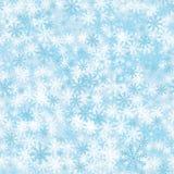 Άνευ ραφής χειμερινά snowflakes υπόβαθρο Στοκ φωτογραφία με δικαίωμα ελεύθερης χρήσης