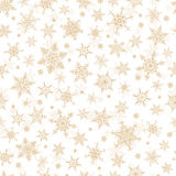 Άνευ ραφής χειμερινό υπόβαθρο - Snowflakes απεικόνιση σχεδίων Στοκ φωτογραφία με δικαίωμα ελεύθερης χρήσης