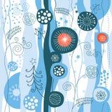 άνευ ραφής χειμώνας ανασκό& Απεικόνιση αποθεμάτων