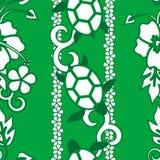 άνευ ραφής χελώνα προτύπων Στοκ Εικόνες