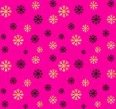 Άνευ ραφής Χριστούγεννα και νέο σχέδιο έτους Διανυσματικό αφηρημένο υπόβαθρο με χρυσά, μαύρα snowflakes διανυσματική απεικόνιση