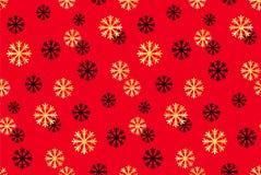 Άνευ ραφής Χριστούγεννα και νέο σχέδιο έτους Διανυσματικό αφηρημένο υπόβαθρο με χρυσά, μαύρα snowflakes απεικόνιση αποθεμάτων