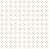 Άνευ ραφής χρυσό σχέδιο σημείων Πόλκα Ακριβώς μειωθείτε swatches και απολαύστε EPS 10 διανυσματική απεικόνιση