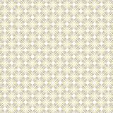Άνευ ραφής χρυσό τετραγωνικό γεωμετρικό σχέδιο μορφών στο άσπρο υπόβαθρο διανυσματική απεικόνιση