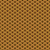 Άνευ ραφής χρυσό υπόβαθρο σχεδίων του Art Deco διανυσματικό Στοκ φωτογραφία με δικαίωμα ελεύθερης χρήσης