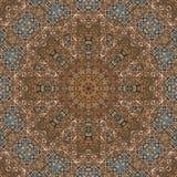 Άνευ ραφής χρωματισμένο μέταλλο arabesque 002 Στοκ φωτογραφία με δικαίωμα ελεύθερης χρήσης