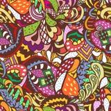 Άνευ ραφής χρωματισμένο περίληψη σχέδιο Στοκ φωτογραφία με δικαίωμα ελεύθερης χρήσης