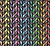Άνευ ραφής ύφανση σχεδίων με τις κορδέλλες διανυσματική απεικόνιση