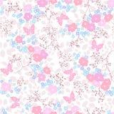 Άνευ ραφής floral ανασκόπηση Στοκ Εικόνες