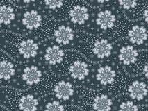 Άνευ ραφής floral αφηρημένο σχέδιο σχεδίου διανυσματική απεικόνιση