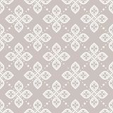 Άνευ ραφής floral γεωμετρική ταπετσαρία σχεδίων Στοκ Εικόνα
