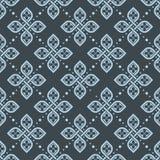 Άνευ ραφής floral γεωμετρική ταπετσαρία σχεδίων Στοκ εικόνα με δικαίωμα ελεύθερης χρήσης