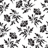 Άνευ ραφής floral πρότυπο Στοκ Εικόνα