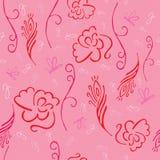 Άνευ ραφής floral σχέδιο - απεικόνιση Στοκ Φωτογραφία
