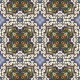 Άνευ ραφής floral σχέδιο, ελαιογραφία Στοκ φωτογραφία με δικαίωμα ελεύθερης χρήσης