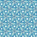 Άνευ ραφής floral σχέδιο φύλλων Στοκ εικόνες με δικαίωμα ελεύθερης χρήσης