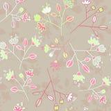 Άνευ ραφής floral σχέδιο Στοκ Φωτογραφίες