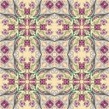 Άνευ ραφής floral σχέδιο Στοκ Εικόνες